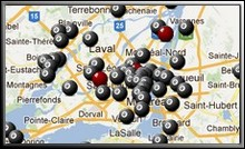 Google map billard